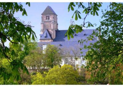 Schlosskirche mit ehemaligen Kloster